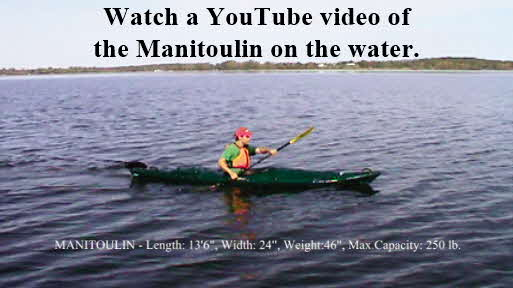 Click here to watch a YouTube video of the Manitoulin on the water