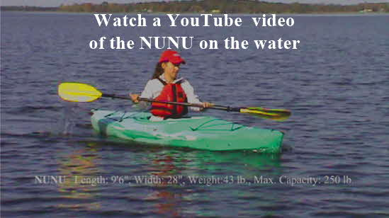 Click Here to Link to YouTube Video of Nunu on Water