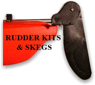 Rudder kits and skegs
