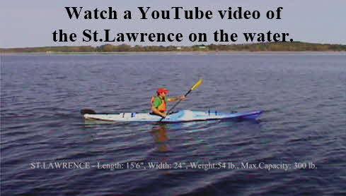 Click here to see a YouTube video of the St.Lawrence on the water.