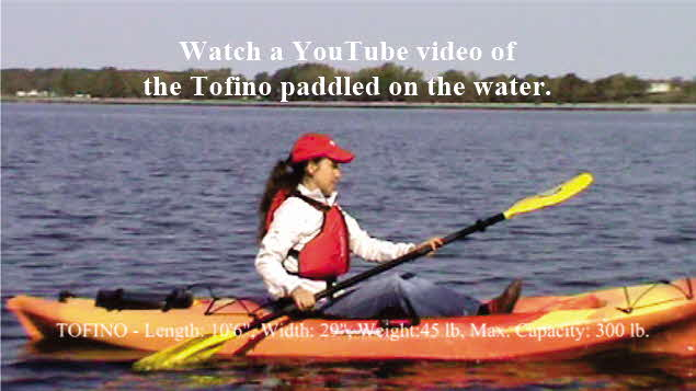 Click here to watch a YouTube video of the Tofino